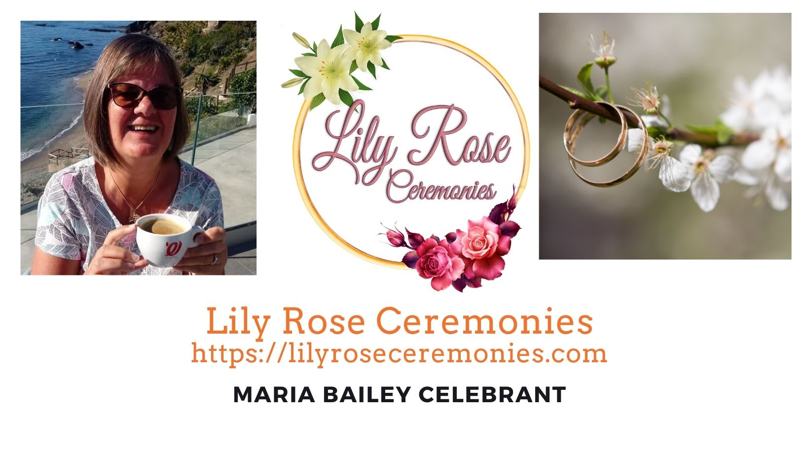 Lily Rose Ceremonies - new banner